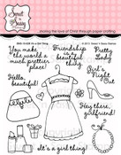 It's a Girl Thing Clear Stamp Set