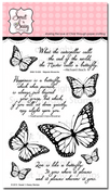 Majestic Monarchs Clear Stamp Set