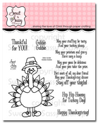 Gobble Gobble Clear Stamp Set