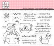 Snowman Soup Clear Stamp Set