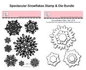 Bundle Blitz: Spectacular Snowflake Stamp and Die Bundle