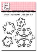 Small Snowflake Dies: Set of 4
