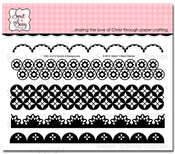 Borders & Backgrounds Clear Stamp Set