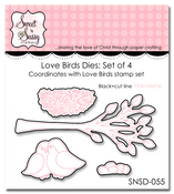Love Birds Die Set