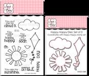 Happy Happy Stamp & Die Bundle