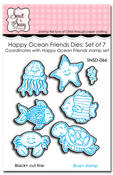 Happy Ocean Friends Die Set