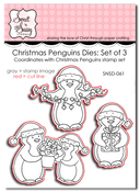 Christmas Penguins Die Set