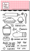 Baked for You Clear Stamp Set