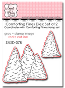 Comforting Pines Die Set