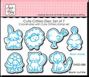 Cute Critters Die Set of 7