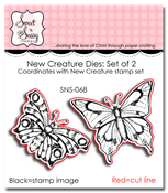 New Creature Dies: Set of 2