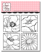 Mini Flower Blocks 2 Clear Stamp Set