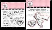 Super Dad Stamp & Die Bundle