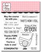 Hole in One Clear Stamp Set