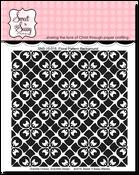 Floral Pattern Background Stamp