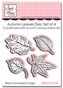 Autumn Leaves Dies: Set of 4