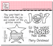 Joy to the World Clear Stamp Set