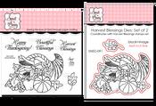 Harvest Blessings Stamp & Die Bundle