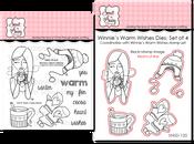 Winnie's Warm Wishes Stamp & Die Bundle