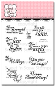 Sentiments for Him Clear Stamp Set
