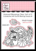 Harvest Blessings Dies: Set of 2