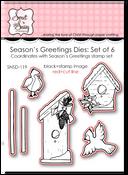 Season's Greetings Dies: Set of 6