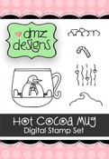 Hot Cocoa Mug Digital Stamp Set