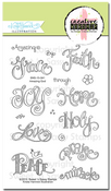 Creative Worship: Amazing God Clear Stamp Set