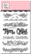 Christmas Borders Clear Stamp Set