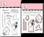 Season's Greetings Stamp Set & Die Bundle