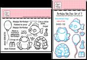 Birthday Pals Stamp & Die Bundle