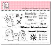 Snow Friends Clear Stamp Set