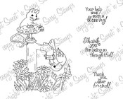 Helping Hand Digital Stamp