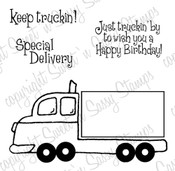 Keep Truckin' Digital Stamp