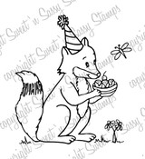 Filmore Fox Ice Cream Treat Digital Stamp