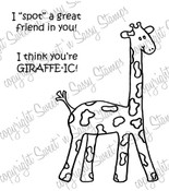 You're Girrafe-ic Digital Stamp