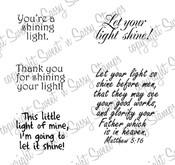 Light Sentiments & Scripture Digital Stamp