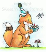 Filmore Fox Colored Digital Stamp