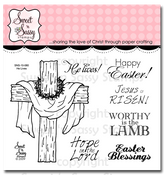 He Lives Clear Stamp Set