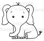 Edmund Elephant Digital Stamp
