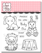 Baby's Circus Clear Stamp Set