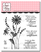 Wildflowers Clear Stamp Set