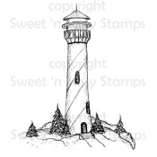 Lighthouse Digital Stamp