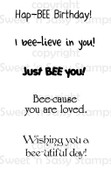 Bee Sentiments 2 Digital Stamp