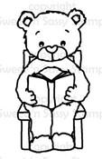 Rhubarb's Good Book Digital Stamp