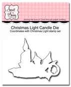 Christmas Light Candle Die