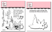 Christmas Light Stamp Set & Die Bundle