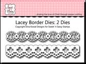 Lacey Eyelet Border Dies