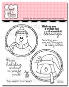 Cozy Friends Clear Stamp Set