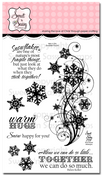 Snowflake Flourish Clear Stamp Set